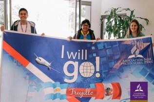 Delegação de Trujillo, no Peru, marcou presença no evento. Foto: UAP
