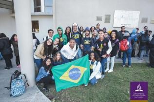 Um dos grupos de brasileiros presentes ao evento internacional de missão. Foto: UAP