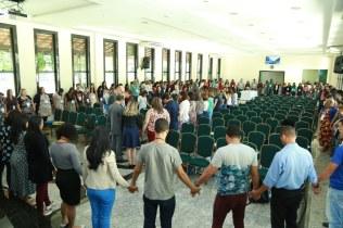 Momento de interseção pela nova unidade em Itaguaí.