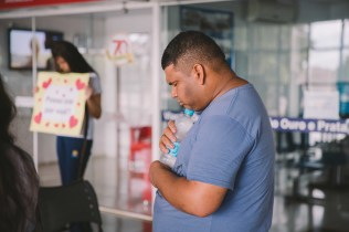 As ações foram realizadas durante o projeto 10 Dias de Oração.