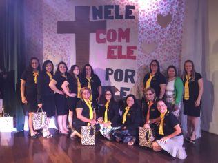 Mulheres saíram do evento motivadas a manterem a mente limpa para trabalharem na missão da igreja