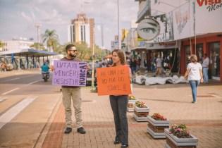 Em Cascavel, os adventistas promoveram uma ação que explicou as causas, sintomas e possíveis soluções para a depressão.