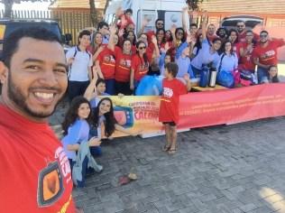 Equipe da ASA do bairro Rosy Magalhães.