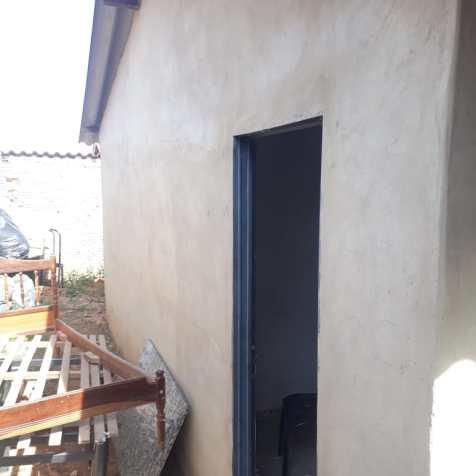 Casa antes da pintura