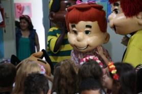 Surpresa contou com participação da Turma do Nosso Amiguinho. [Foto: Paulo Ribeiro].