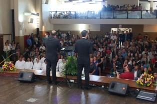 Celebração no último dia reuniu adventistas envolvidos