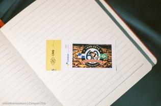 Selos podem ser adquiridos separadamente ou em cartelas (Foto: Anne Seixas)