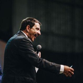 Pastor Domingos Sousa, presidente da Igreja Adventista para o território paulista, também reforçou a importância de dar estudos bíblicos