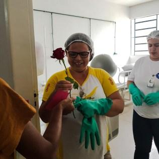 Ação foi realizada pelos jovens do projeto Um Ano em Missão