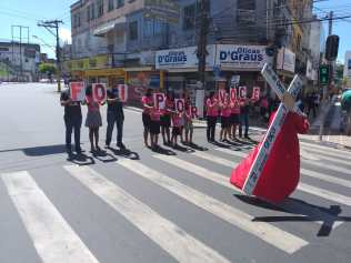 Flash mob em Ilhéus