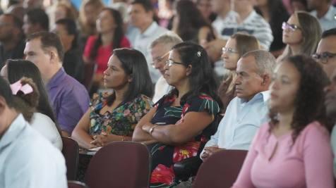Centenas de líderes de Belo Horizonte estiveram no Catre (Fotos: Joelton Oliveira)
