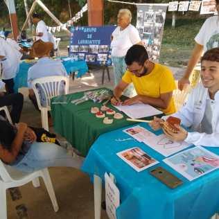 Feira de saúde no leste de Minas