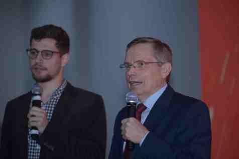 Vice-presidente mundial da Igreja Adventista participou do evento (Foto: Acervo APL)