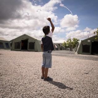 Ideia é dar uma nova perspectiva para quem foge do seu país, por conta das crises. (Foto: Miguel Roth)