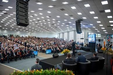 Evento da Aula Magna foi no auditório da Igreja Adventista do Unasp campus Engenheiro Coelho.