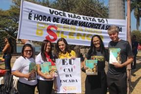 Feira de Saúde em Sete Lagoas. (Foto: Renata Paes)