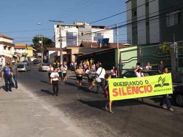 Passeatas pelas ruas foram realizadas(Foto: Divulgação)
