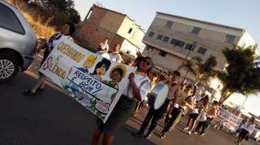 Passeatas por Contagem (Foto: Divulgação)
