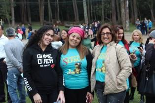 Mulheres participam do projeto no Parque do Carmo (Foto: Maxwell Oliveira)