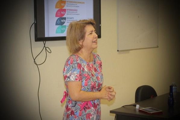 A nutricionista Edna Ribeiro deu dicas de como retardar o processo de envelhecimento ( Foto: Renata Paes)