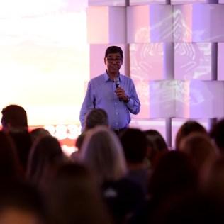 Pastor Montano de Barros, presidente da Igreja Adventista no norte do Paraná.