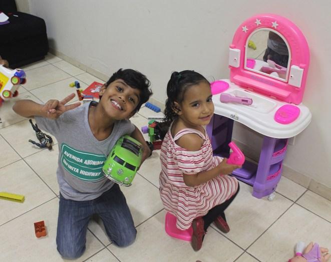 Festival reservou o Espaço Kids. ( Foto: Renata Paes)