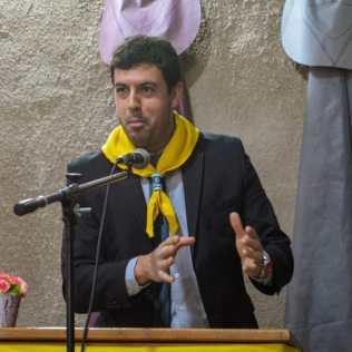 Pastor Fábio Di Santo que cuida da Igreja Adventista de Barrio ...