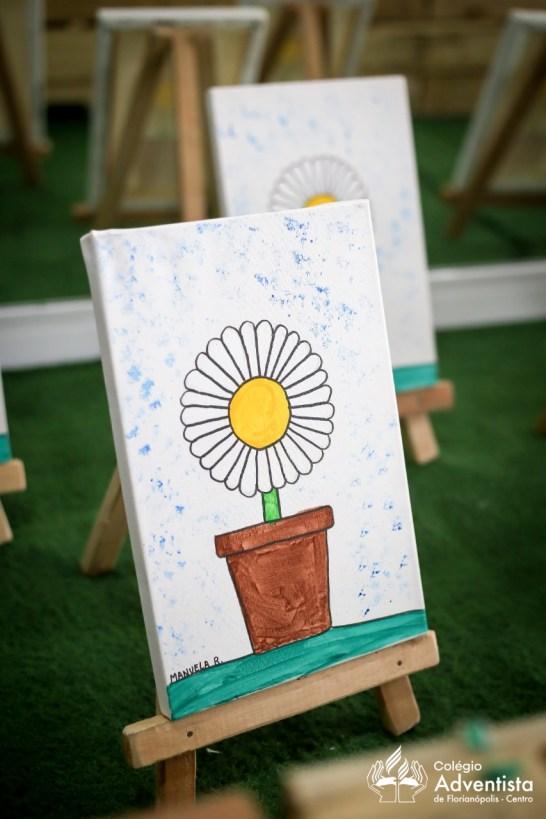 Trabalhos retrataram o talento e criatividade dos alunos