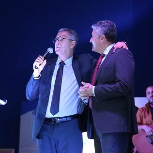 Pr. José Marcos e Tito Rocha. (Foto: Renata Paes)