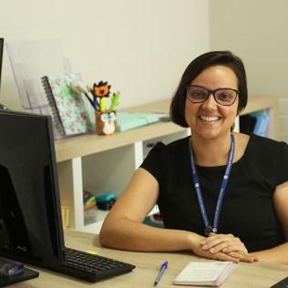 Professora Marina Faria agora integra a equipe da Educação Adventista. (Foto: Renata Paes)