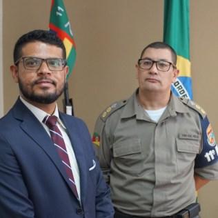 Pastor da IASD Iguatemi acompanhou visita. (Foto: Divulgação)