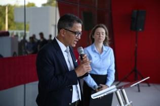 Pr. Rubens Silva fala aos convidados