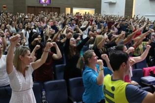 Servidores saíram do evento motivados a buscarem a excelência em sala de aula