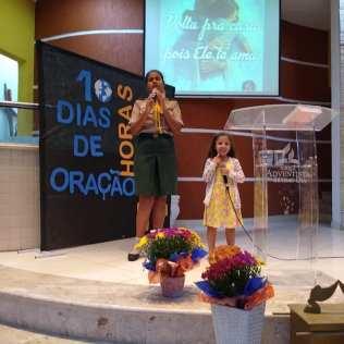 Uma programação especial dos 10 Dias de Oração marcou a Igreja de Jardim das Oliveiras durante a semana (Foto: Arquivo Pessoal)