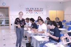 Oficinas de geração de renda levam aprendizado aos participantes (Foto: Lourinaldo Silva)