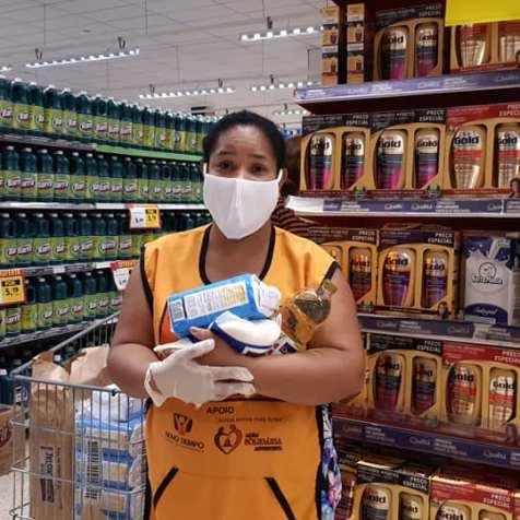 Niane é uma das voluntárias da ABACC.