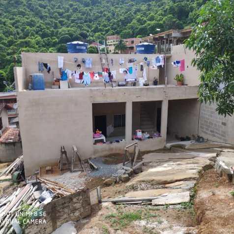 Casa após a reforma mobilizada por Ibanês (Foto: arquivo pessoal)