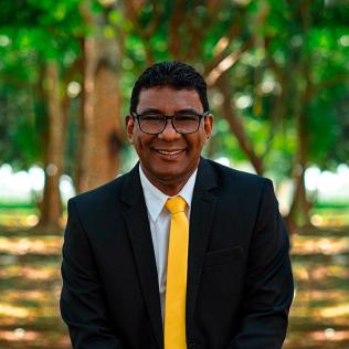 Ministério Pessoal e Evangelismo: James Luciano de Azevedo Santos (Foto: Deilane Santos)
