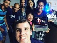 Equipe do OYM acompanha Semana Santa Online