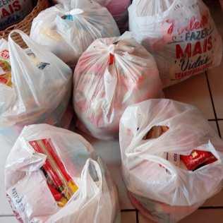 Mutirão de Páscoa alimentou famílias do norte da Bahia (Foto: Reprodução)