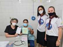 Aventureiros escreveram cartas aos profissionais de saúde em Cacoal. (Arquivo pessoal)