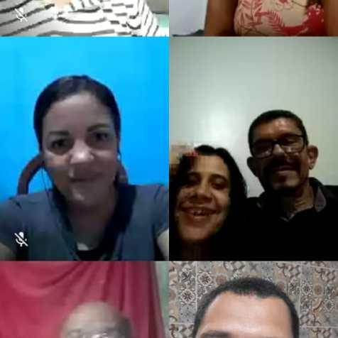 No total, Mirian dá estudos bíblicos para 48 pessoas. 15 são em uma classe bíblica virtual. (Imagem: reprodução)