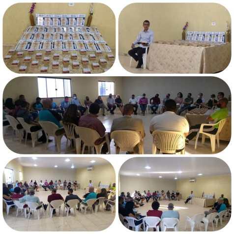 As atividades aconteceram em diversas igrejas do Planalto Central (Foto: Divulgação)