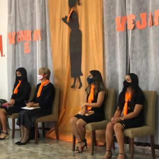 Mulheres foram treinadas para realizar evangelismo. (Foto: Divulgação)
