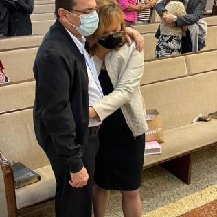 Momento de oração aproximou participantes do Criador. (Foto: Divulgação)
