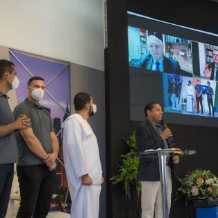 O treinamentFoto: Carlos Ribeiroo teve a participação do Pr. Bruno Razo, vice-presidente da Igreja Adventista na América do Sul e do Pr. Herbert Boger, responsável pela Missão Global. (Foto: Carlos Ribeiro)