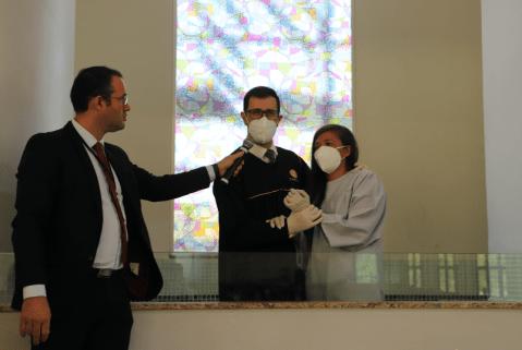 Evanelde foi batizada e já está inserida no trabalho missionário da colportagem. Foto: Fernanda Silva.