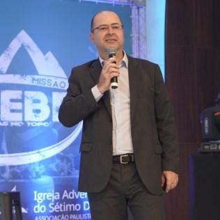 Pastor Aguinaldo Guimarães, presidente da Igreja Adventista para as regiões leste e norte da capital paulista (Foto: Jatir Bernardo).