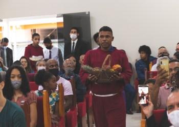 Festa das Primícias em Jaguaquara (Foto: Colaboração)