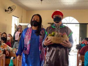 Festa das Primícias da Igreja do Largo, distrito de Itambé (Foto: Colaboração)